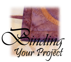 Binding Your Project