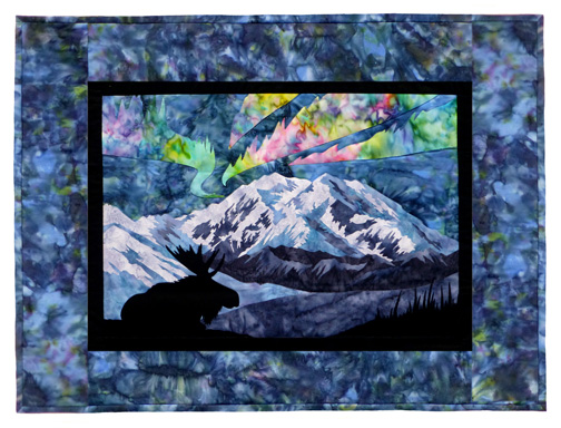 Aurora Nights: At the Park Individual Wallhanging