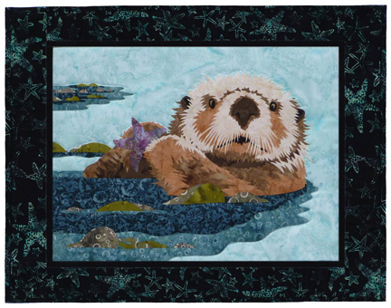 Maritime's Most Wanted: Sea Otter Individual Wallhanging